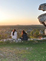 - Panorama Olsztyna z Góry Zamkowej